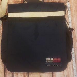 Vintage tommy Hilfiger messenger bag